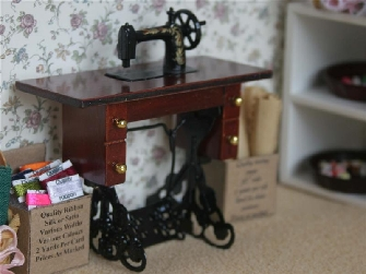 Dolls House Sewing Room