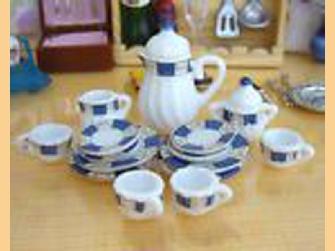 Dolls House Tea and Coffee Sets